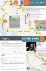 Washington Dc Metro Map Pdf by Dc Pizza Crawl U2014 Bikabout