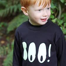 Halloween T Shirts For Kids by Glow In The Dark Halloween T Shirt