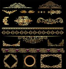 ornamental border free vector 14 041 free vector for