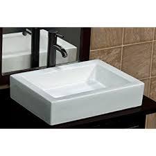bathroom rectangular ceramic porcelain vessel vanity sink 7241 e3