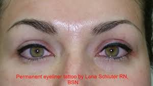 eyeliner tattoo images the best permanent eyeliner and lips tattoo by lana schluter rn bsn
