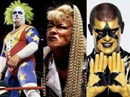 Goldust Halloween Costume 10 Wrestlers Coolest Facepaint Slide 11 11