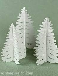 ashbee design silhouette projects tea light village u2022 pine tree