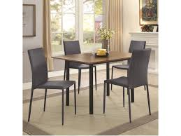 coaster adler space saving 5 piece dining table set beck u0027s