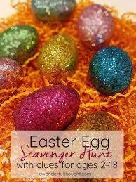 Easter Scavenger Hunt Easter Egg Scavenger Hunt A Wonderful Thought