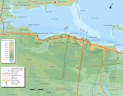 Canada Maps by Caraquet Topographic Map U2022 Mapsof Net