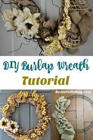 halloween burlap wreath diy burlap wreath for fall the best of life magazine luxury
