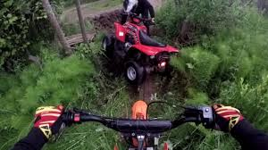 pitbike 125 ft atv 50 backyard adventure time fun s1 youtube