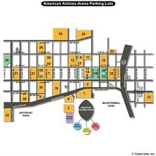 American Airlines Floor Plan American Airlines Arena Parking Lots Seating Charts