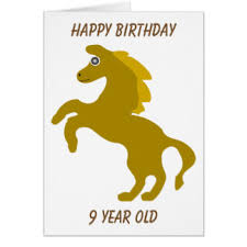 for 9th birthday greeting cards zazzle co nz