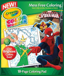 amazon crayola spiderman color refill book toys u0026 games