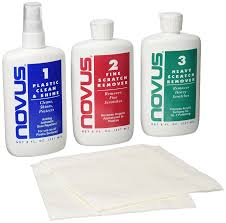 amazon com novus 7100 plastic polish kit 8 oz automotive