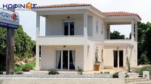 2 floor house house kofinas prefabricated houses greece house plans 77815