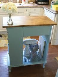 elegant diy kitchen island from desk