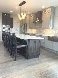 dark wood kitchen cabinets grey wood floor kitchen grey wood kitchen floor kitchen flooring
