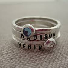 ring with children s names child name rings s rings children s name rings hip