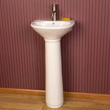 farnham porcelain mini pedestal sink pedestal sink pedestal and