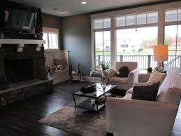 Transitional Living Room by Living Room With High Ceiling U0026 Hardwood Floors In Fort Wayne In