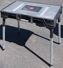 husky adjustable work table amazing husky portable workbench review intended for work bench
