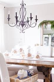 inviting holiday dining room a burst of beautiful