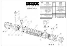 elecro g2 titanium heat exchanger for swimming pools spas marine