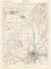 usa map kalamazoo historic maps upjohn center for the study of geographical change
