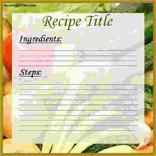 free recipe card templates recipe card2 png letterhead template
