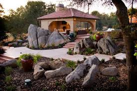 landscaping with boulders ideas