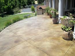 back yard concrete patio ideas best solutions of cement patio