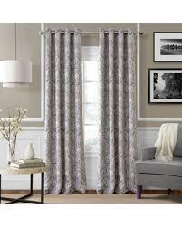 95 Inch Curtain Panels New Savings On Julianne 95 Inch Blackout Grommet Top Window