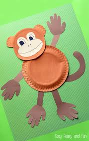 Pinterest Crafts Kids - paper plate monkey fun paper plate crafts for kids monkey