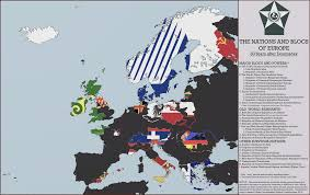 World Map Country Flags Flags Of Europe A 1983 Doomsday Map By Mdc01957 On Deviantart