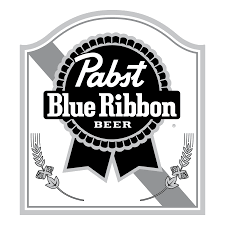 logo ribbon pabst blue ribbon worldvectorlogo