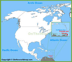 where is and tobago located on the world map and tobago location on the america map