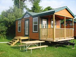 Studio Shed With Bathroom by Richfield Springs New York Cabin Accommodations Cooperstown Koa