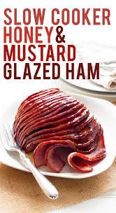 cooker ham with honey mustard glaze wholefully