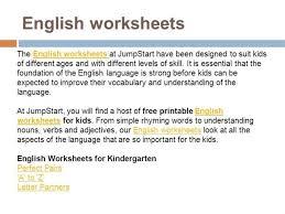 english worksheets authorstream
