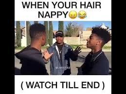 Nappy Hair Meme - when someone hair nappy 1 youtube