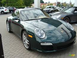 green porsche 911 2009 porsche racing green metallic porsche 911 carrera s coupe