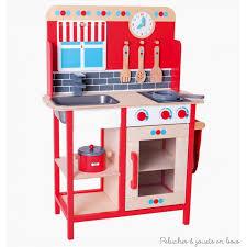 cuisine jouet ma 1ère cuisine en bois peint évier four plaques jouet bigjigs 3 ans