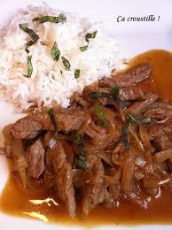 cuisine chinoise boeuf aux oignons ça croustille boeuf aux oignons