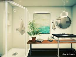 simple bathroom design using autodesk homestyler bath id
