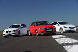 audi a3 vs bmw 3 series audi a3 vs bmw 1 series vs volvo v40 autospies auto