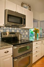 backsplash hand painted tiles for kitchen i painted our kitchen