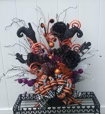 witch legs witch u0027s cauldron halloween decor uh oh ceramic