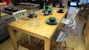 Habitat Dining Table The Habitat Radius Oak Dining Room Bedroom Furniture Range