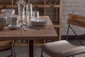 toby industrial style dining table industrial chic style