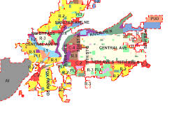map r zoning map city of great falls montana