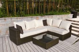 outstanding outdoor wicker patio set for home u2013 patio furniture