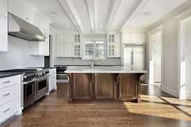 kitchen cabinets dark bottom white top kitchen decoration